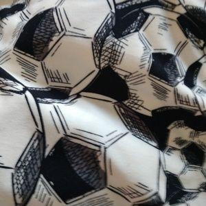 LulaRoe TC2 Leggings Soccer Balls
